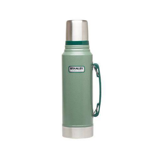 Garrafa Térmica Classic Stanley 1 Litro Hammertone Green