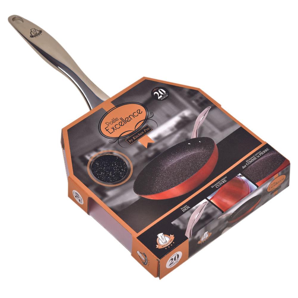 Frigideira Antiaderente 20 cm Excellence Kitchen Pro