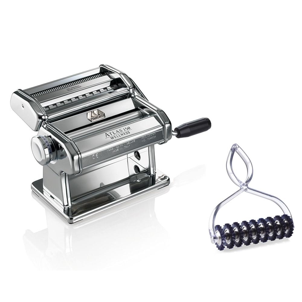 Máquina Para Macarrão Atlas 150 Classic + Acessório para Pastabike Marcato