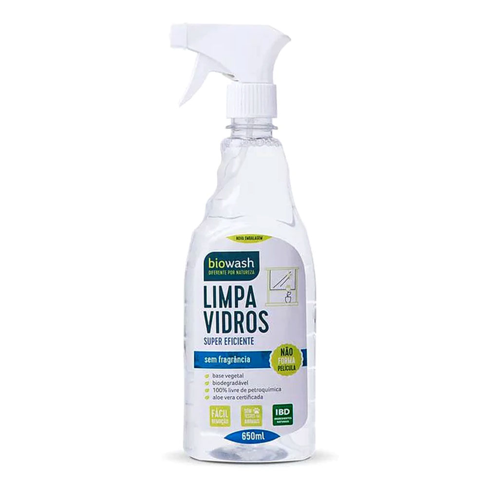 Limpa Vidros Biowash 650ml