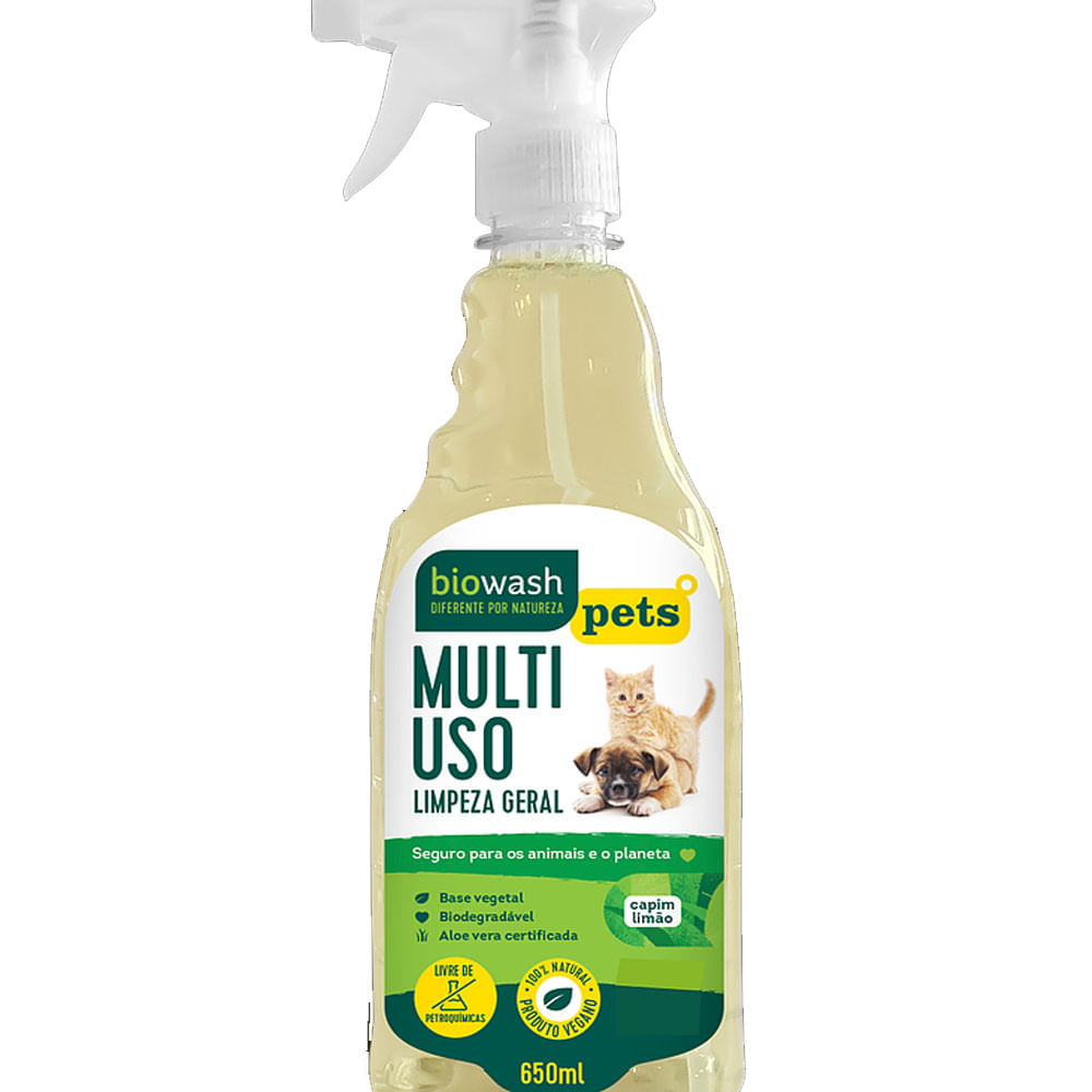 Multiuso PET Capim Limão Biowash 650ml