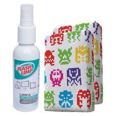 Kit-Esponja-Microfibra-e-Limpa-Telas-Spray-FlashLimp-Casa-Caso
