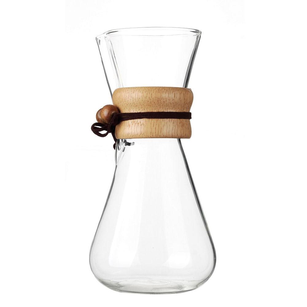 Cafeteira Chemex Bambu Drip e Serve Kenya 630ml