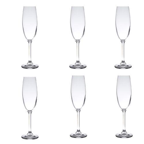Conjunto-6Tacas-Champagne-Crystalite-Bohemia-5327-CasaCaso