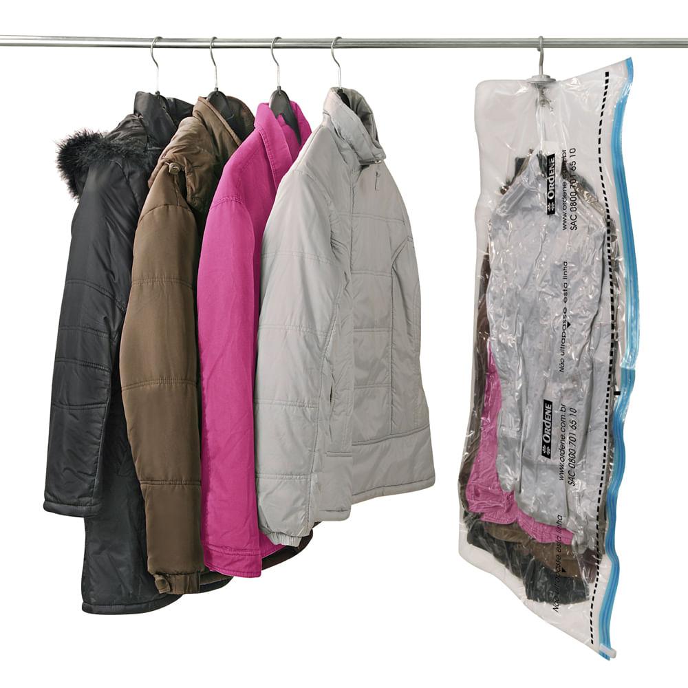 Saco a Vácuo VAC BAG Ordene Hang Bag 120cm x 70cm