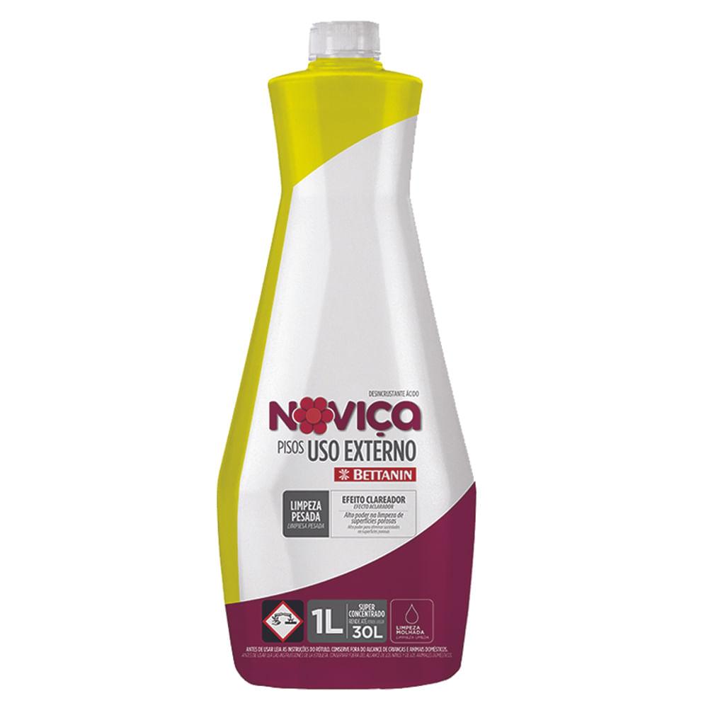 Limpa Pisos Uso Externo 1 Litro Noviça Bettanin