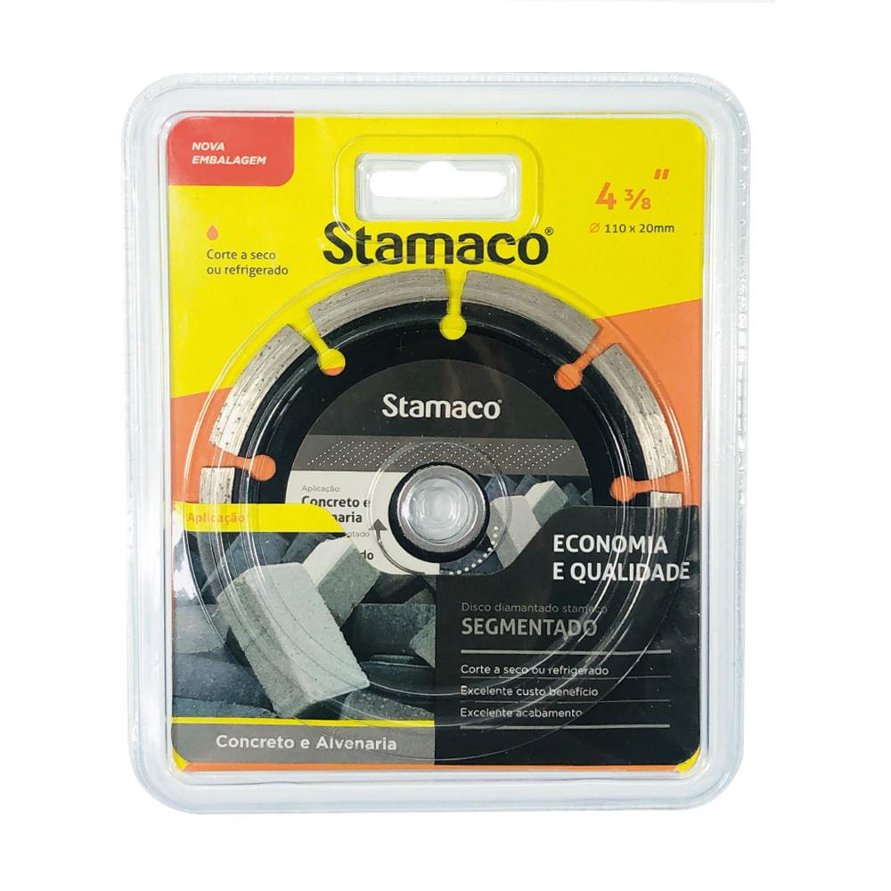 Disco Diamantado Stamaco Segmentado 110mm