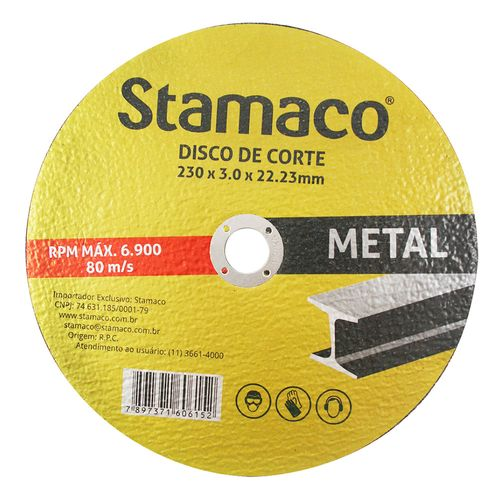 6152-Disco-de-Corte-Metal-230mm-Stamaco