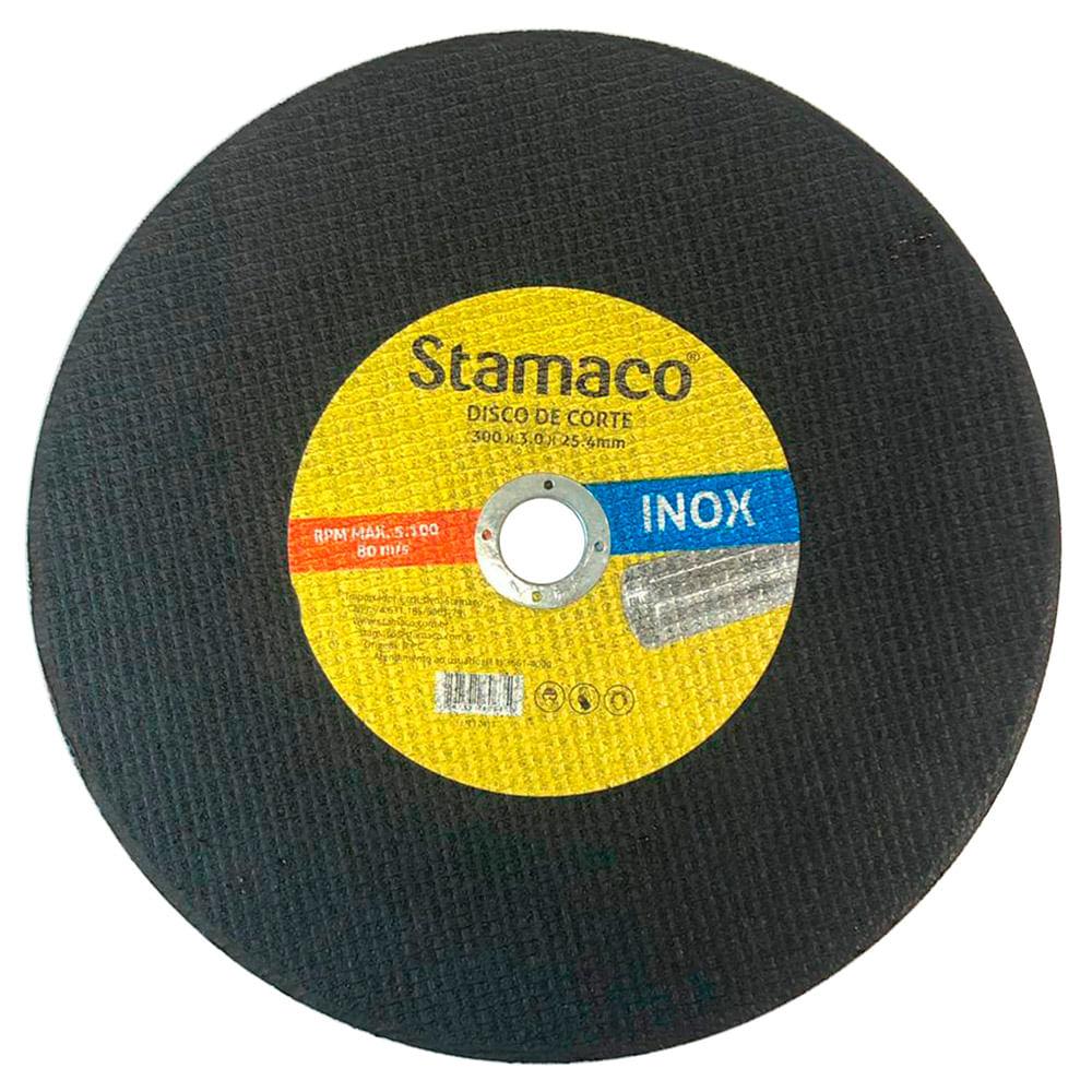 Disco De Corte Inox 300x 3.0x 25,4mm Stamaco