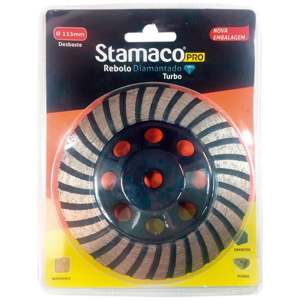 Disco De Desbaste Diamantado Turbo 115mm Stamaco