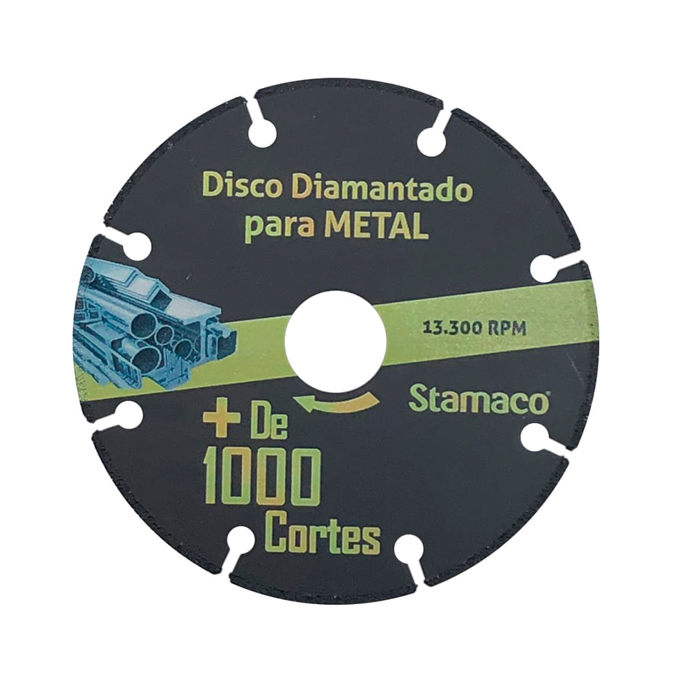 Disco Diamantado Para Metal Mil Cortes 115mm Stamaco
