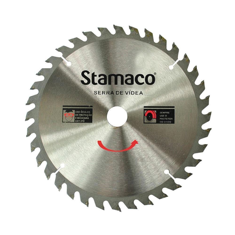Disco De Serra De Vídea 200mm - 36 Dts Stamaco