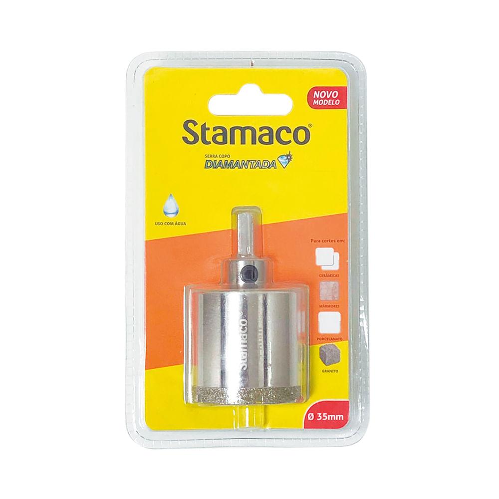 Serra Copo Diamantada 35mm Stamaco