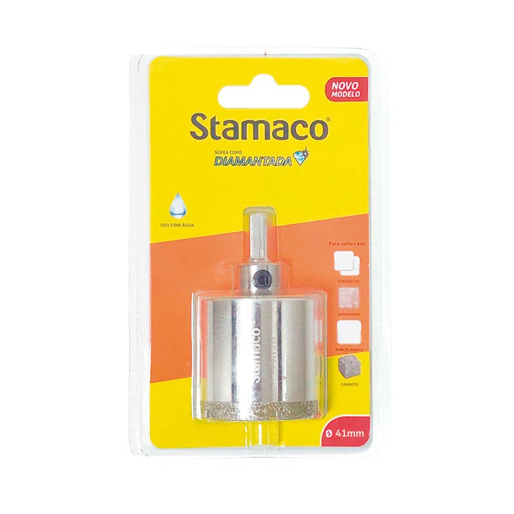 Serra Copo Diamantada 41mm Stamaco