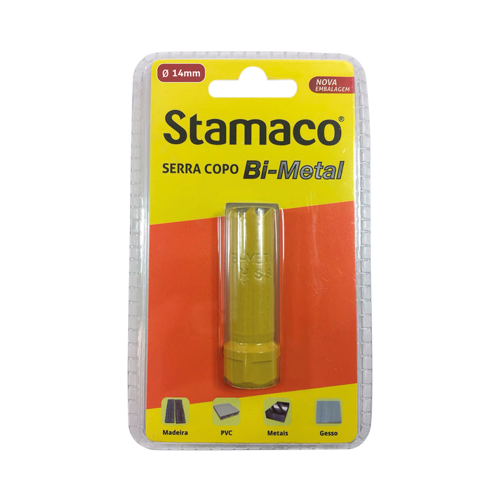 Serra Copo Bi-Metal 14mm Stamaco