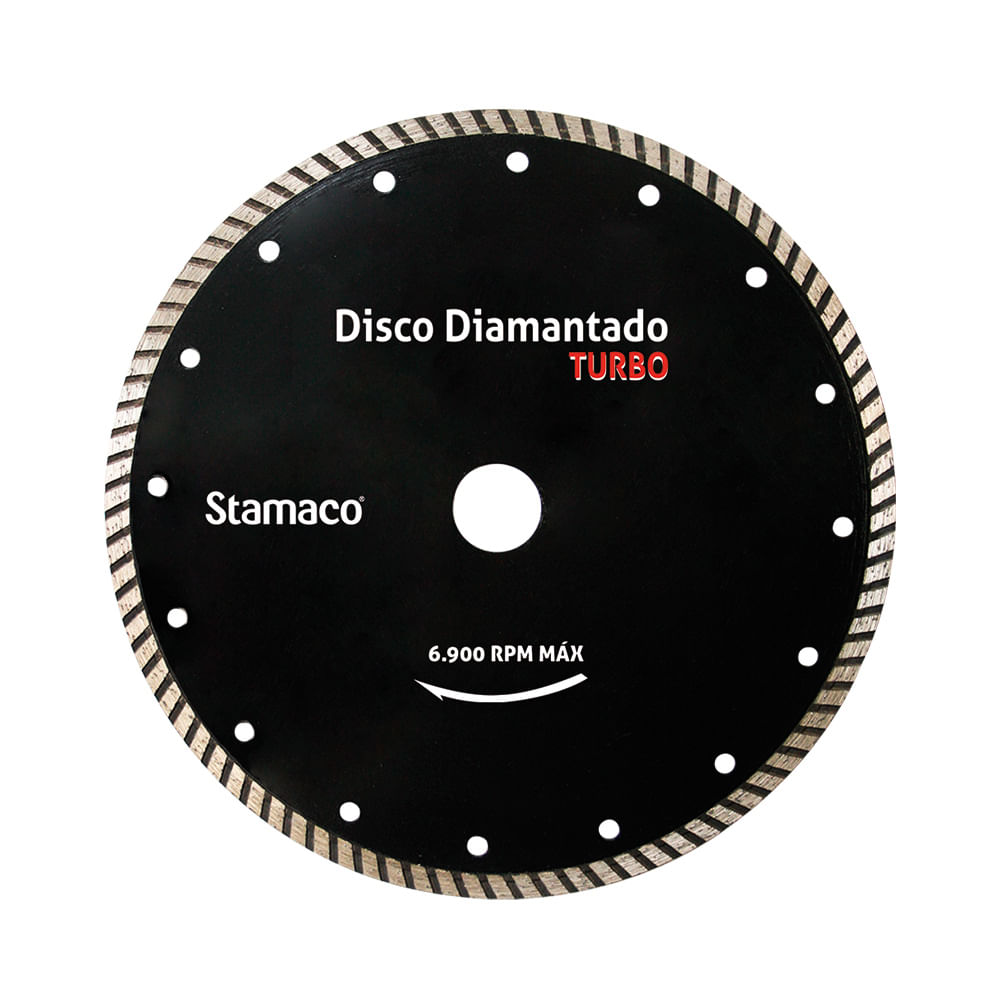 Disco Diamantado Stamaco Turbo 230mm