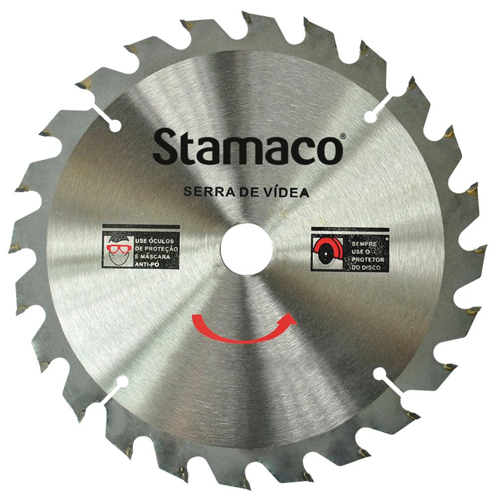 Disco De Serra De Vídea 230mm - 24 Dts Stamaco