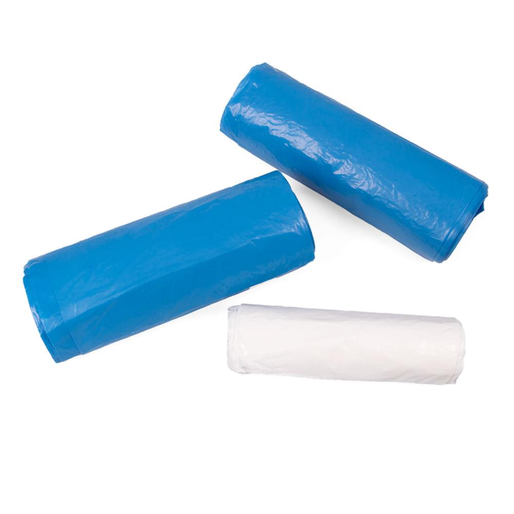 Kit Sacos para Lixo Esfrebom 2 Rolos de 50L e 1 Rolo de 8L