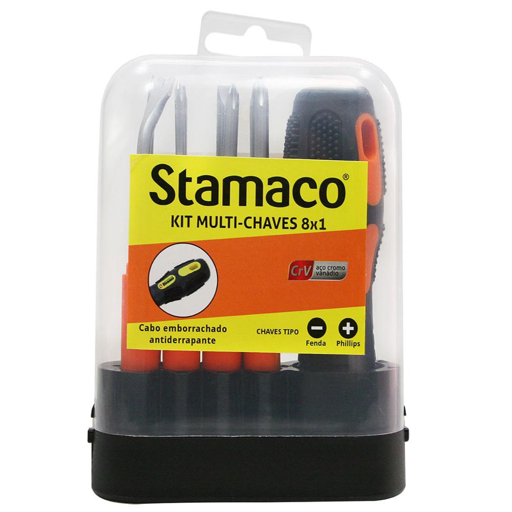 Kit Multi-Chaves 8x1 Stamaco