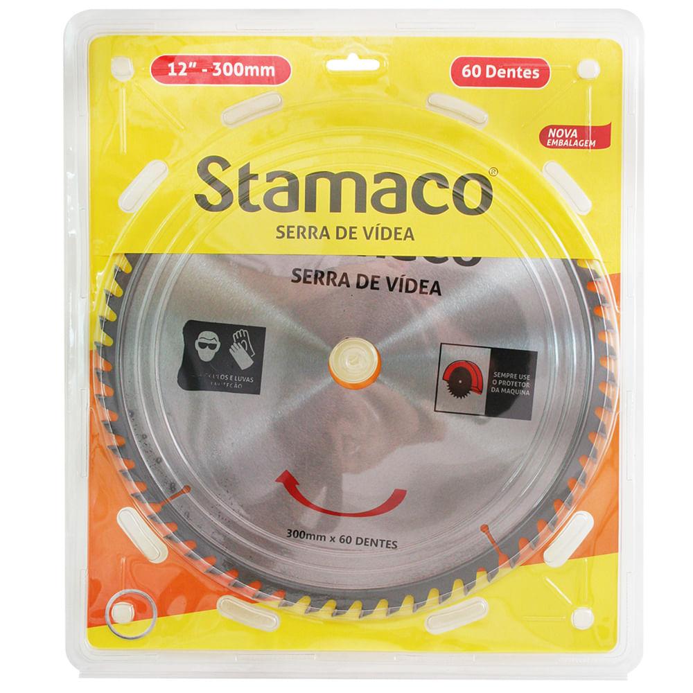 Disco De Serra De Vídea 300mm - 60 Dts Stamaco