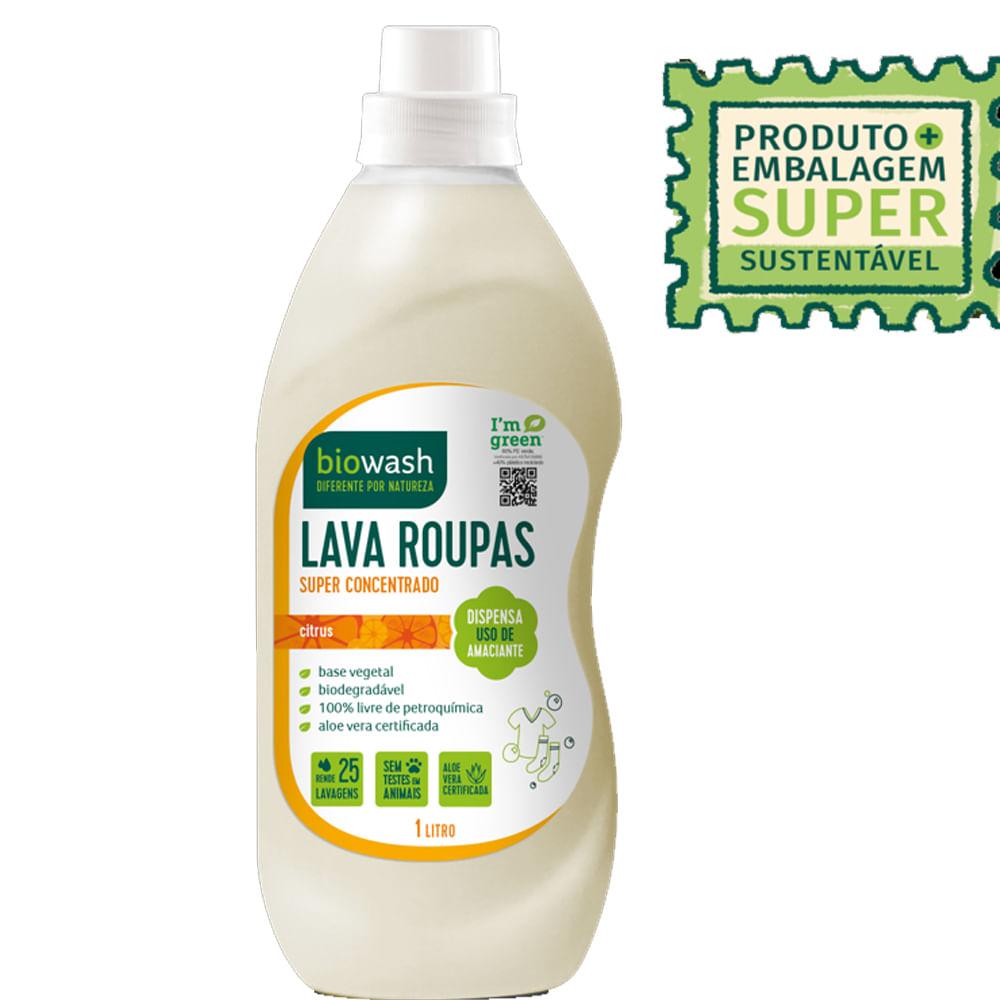 Lava Roupas Citrus Biowash 1 Litro