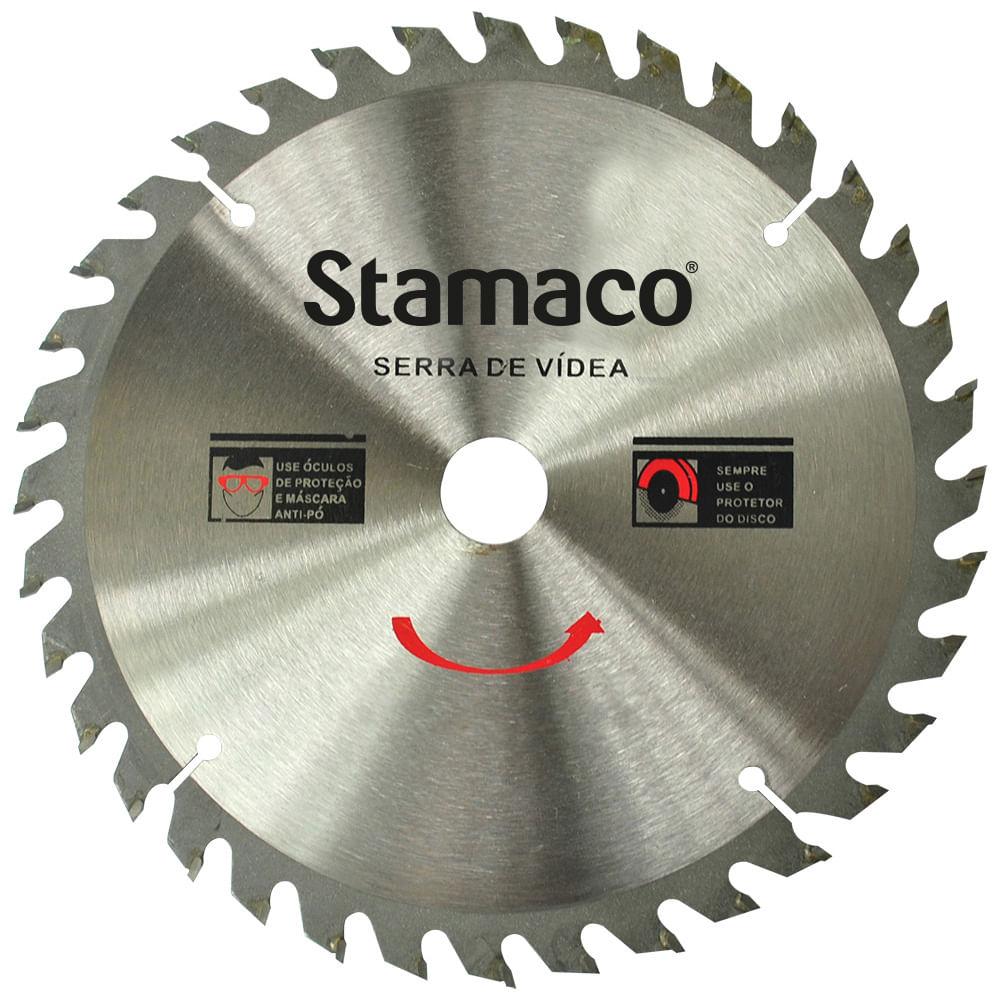 Disco De Serra De Vídea 250mm - 36 Dts Stamaco