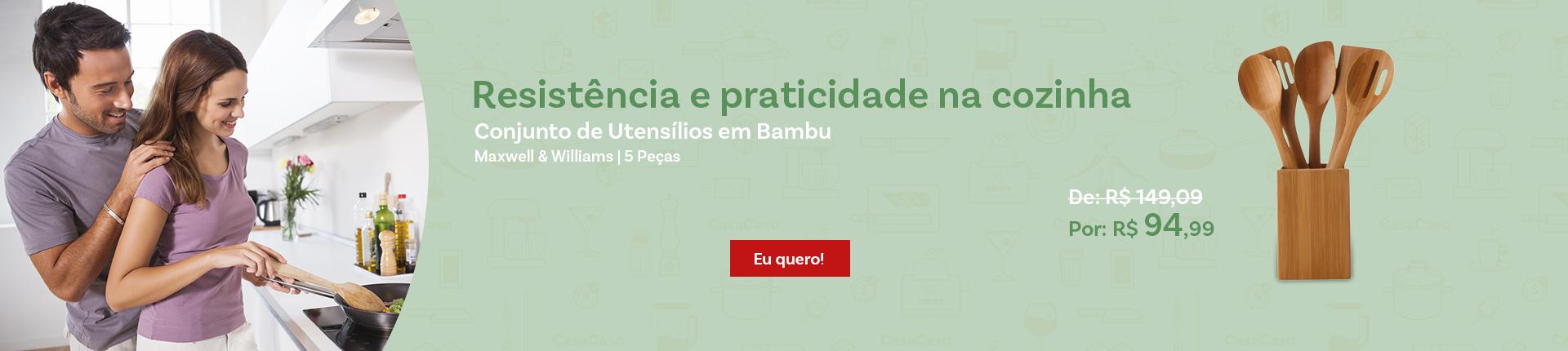 Banner Utensilios bambu