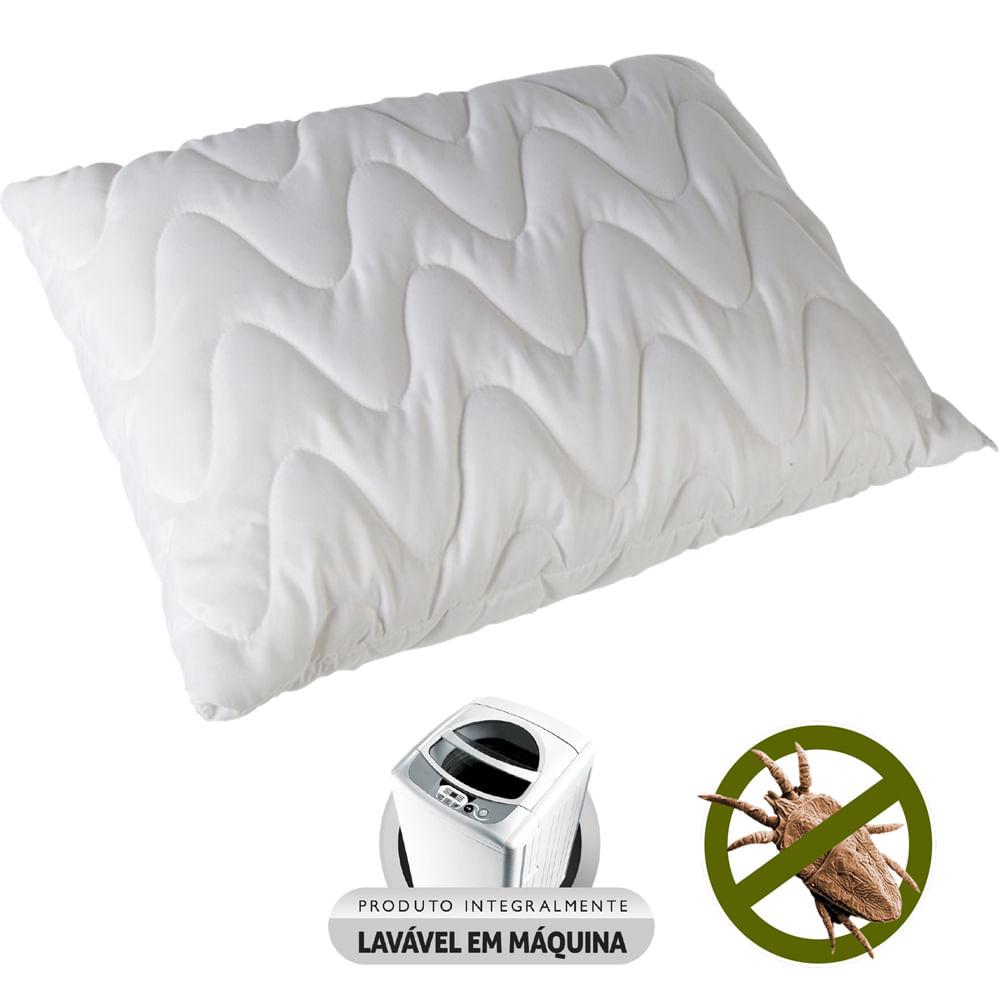 Travesseiro Pele de Pêssego Matelassê Fibrasca – Para Fronhas 50x70cm