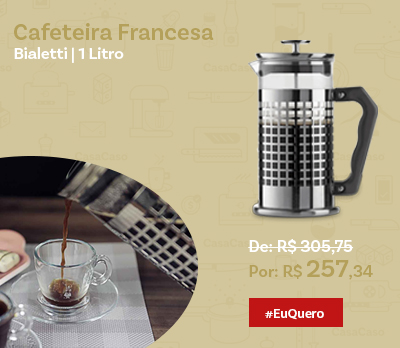 Cafeteira French Press Trendy