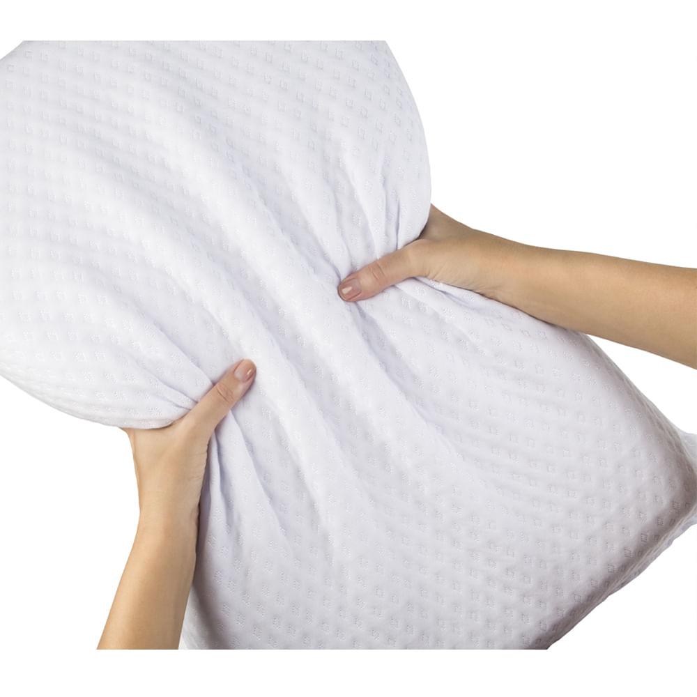 Travesseiro Favos de Mel Silicomfort Intense Fibrasca – Para Fronhas 50x70cm