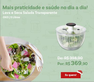 Lava e Seca Salada Oxo 5 Litros - Transparente