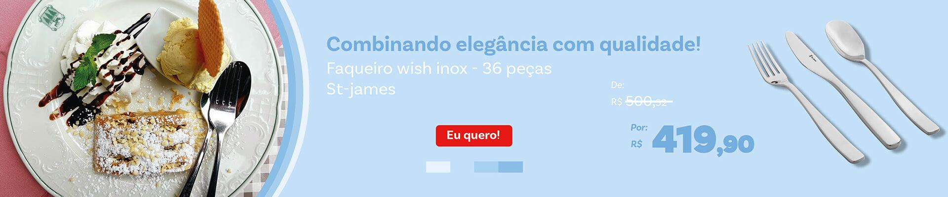 Faqueiro Wish Inox