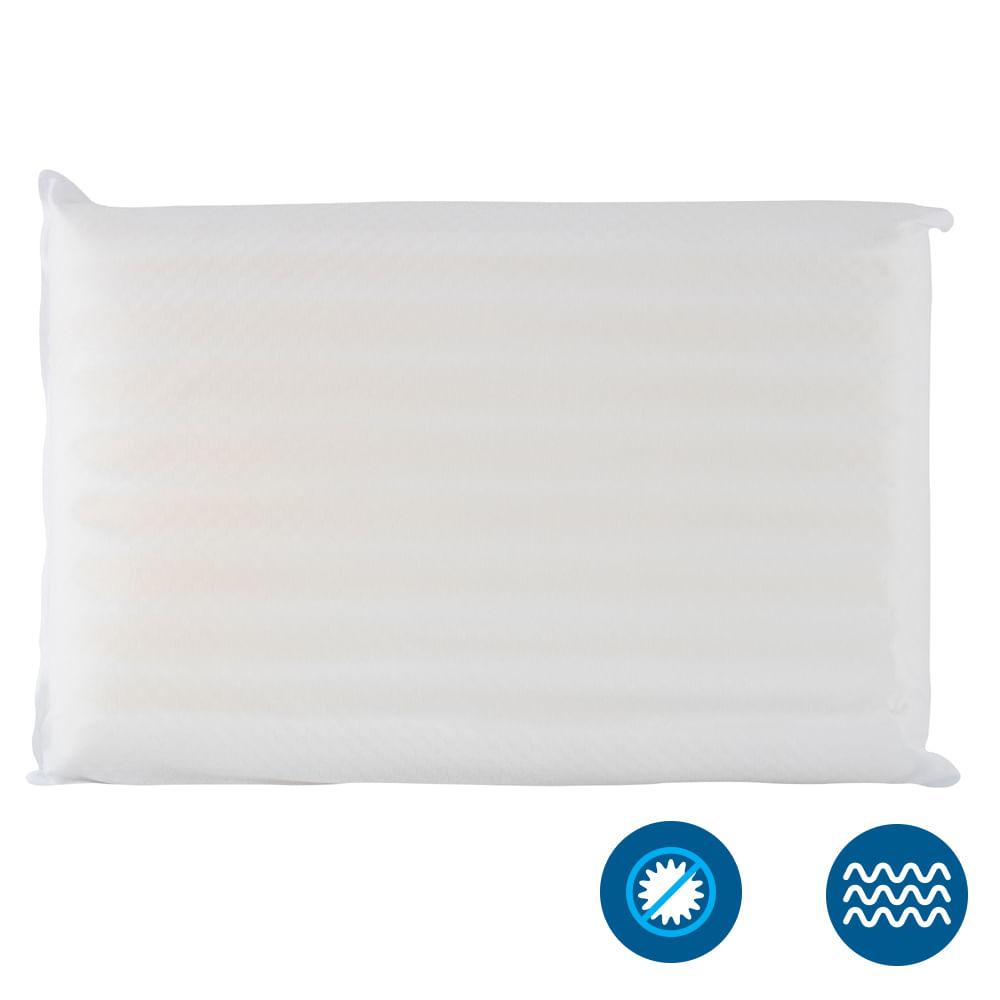 Travesseiro Dois Confortos Fibrasca – Para Fronha 50x70cm