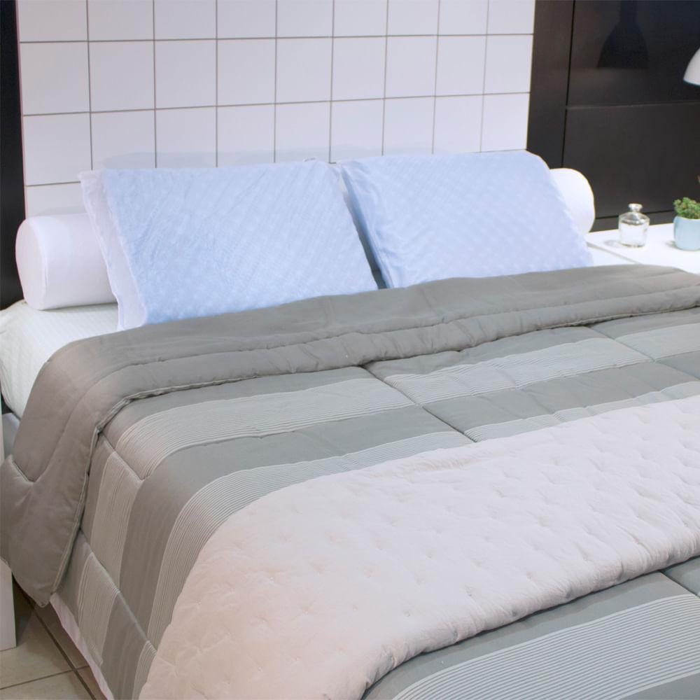Travesseiro Múltiplo Conforto Massageador Fibrasca – Para Fronha 50x70cm