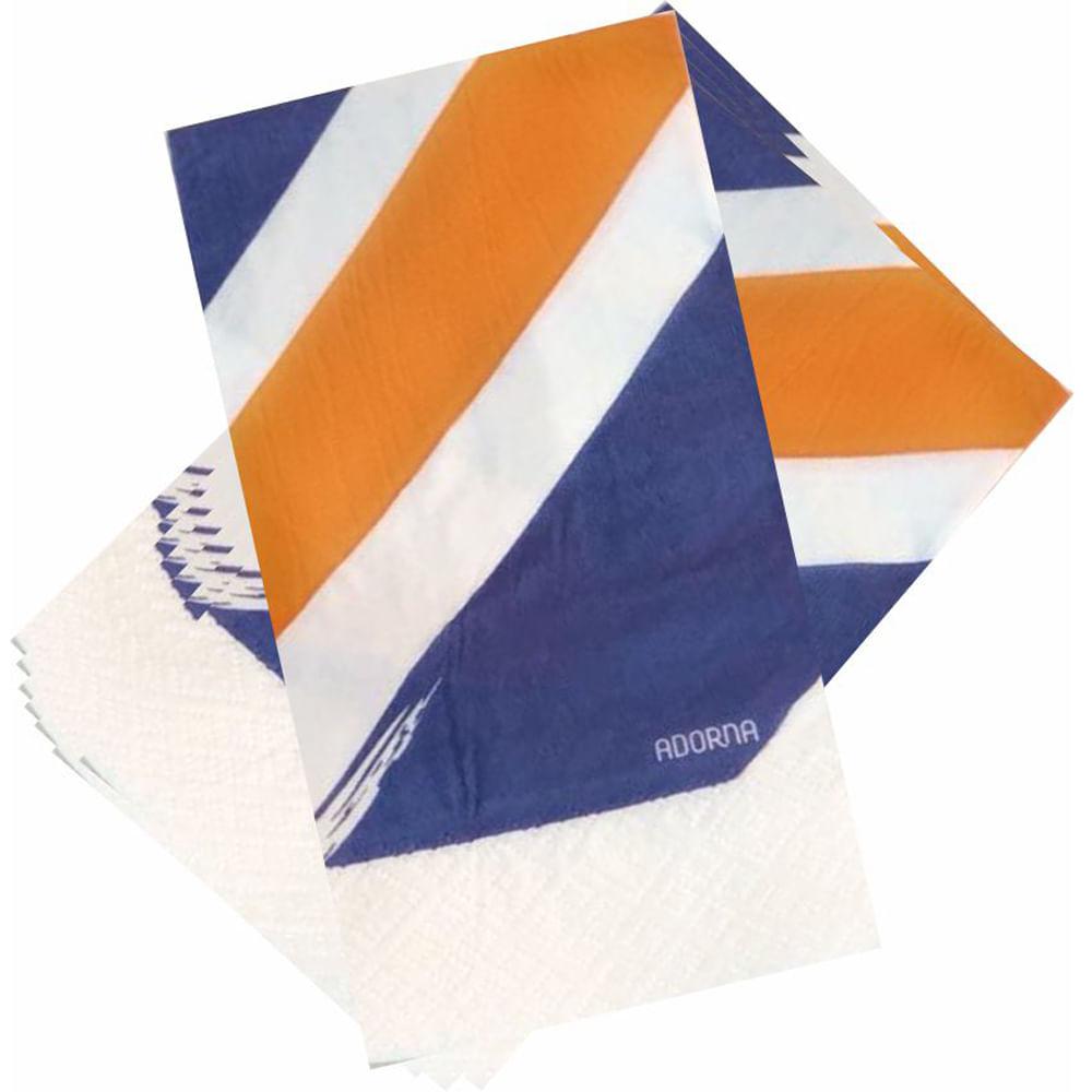 Guardanapo de Papel Decorado Pinceladas 40x40 Adorna 20 Unidades